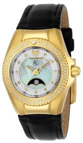 Technomarine Women's TM-416020 Eva Longoria Quartz 3 Hand White Dial Watch