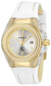 Technomarine Women's TM-416025 Eva Longoria Quartz 3 Hand Silver Dial Watch