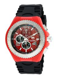 Technomarine Men's TM-115113 Cruise JellyFish Quartz Red Dial Watch