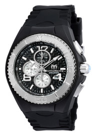 TechnoMarine Men's TM-115307 Cruise JellyFish Quartz Multifunction Black Dial Watch