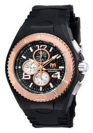 TechnoMarine Men's TM-115308 Cruise JellyFish Quartz  Black Dial Watch