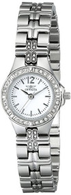 Invicta Women's 0126 II Collection Crystal Accented Stainless Steel Watch Inv...