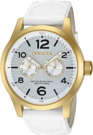 Invicta Men's 12174 Specialty Quartz 3 Hand Silver Dial Watch