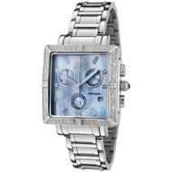 Invicta Women's 0451 Square Angel Collection Diamond Accented Chronograph Wat...