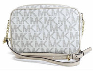 Michael Kors Large Jet Set Travel Crossbody VANILLA 32S4GJSC7B-150