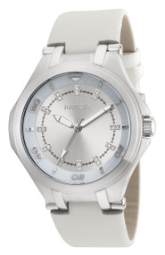 Invicta Women's 21755 Wildflower Quartz 3 Hand Silver Dial Watch