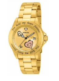 Invicta 14732 Angel Gold Tone You Hold My Heart Women's Watch [Watch]