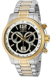 Invicta Men's 0080 Specialty Quartz Chronograph Black Dial Watch