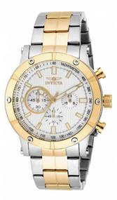 Invicta Men's 18164 Specialty Quartz Multifunction Silver Dial Watch