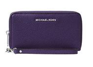 MICHAEL Michael Kors KORS STUDIO Large Flat Phone Case Wristlet IRIS 32F6SM9E3L-535