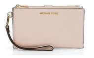 MICHAEL Michael Kors Adele Large Smartphone Wristlet 32T7GAFW4L-187 Soft Pink …