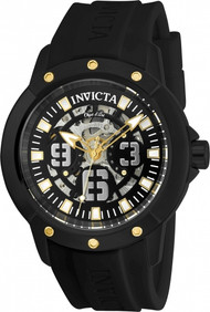 Invicta Men's 22632 Objet D Art Automatic 3 Hand Black Dial Watch