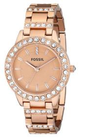 Fossil Women's ES3020 Jesse Analog Display Analog Quartz Rose Gold Watch [Wat...
