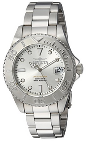 Invicta Women's 'Pro Diver' Quartz Stainless Steel Diving Watch, Color:Silver-Toned (Model: 24630) …