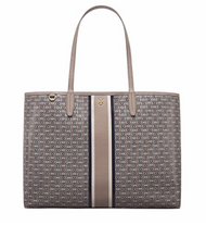 Tory Burch Gemini Link Tote - French Gray …