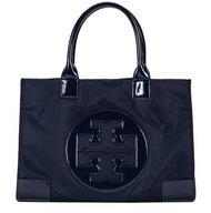 Tory Burch Nylon Ella Tote Bag 50009834-486 French Navy …