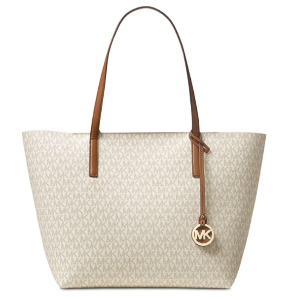 77b8be67925b ... MICHAEL Michael Kors Hayley Large East West Top Zip Tote  30T7GH3T7V-149. Image 1