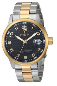 Invicta Men's 17915 Sea Base Quartz 3 Hand Black Dial Watch