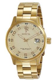 Invicta Men's 17919 Sea Base Quartz 3 Hand Gold Dial Watch