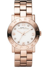 Marc-Jacobs Amy Rose Gold Watch MBM3077 [Watch] Marc by Marc