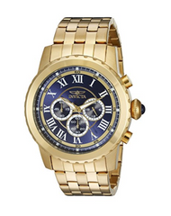 Invicta Men's 19468 Specialty Analog Display Japanese Quartz Gold Watch