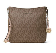 Michael Kors Jet Set Signature Large Messenger Bag, 30F6GTVM3B MOCHA 30F6GTVM3B-213