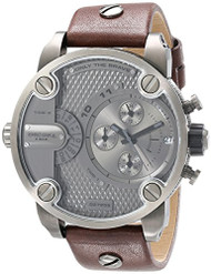 Diesel Men's DZ7258 The Daddies Series Analog Display Analog Quartz Brown Watch