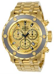 Invicta Men's 23922 Subaqua Quartz Chronograph Gold Dial Watch