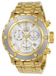Invicta Men's 23923 Subaqua Quartz Chronograph Silver Dial Watch