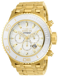 Invicta Men's 23938 Subaqua Quartz Chronograph Silver Dial Watch