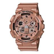 G-Shock GA100GD-9A Classic Series Designer Watch - Rose Gold / One Size