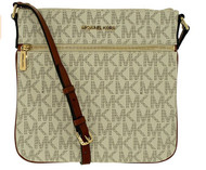 Michael Kors Bedford Flat Cross Body VANILLA 32H5GBFC2V-150