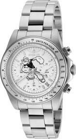 Invicta Men's 24481 Character  Quartz Multifunction White Dial Watch