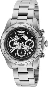 Invicta Men's 24482 Character  Quartz Multifunction Black Dial Watch