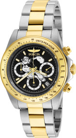 Invicta Men's 24484 Character  Quartz Multifunction Black Dial Watch