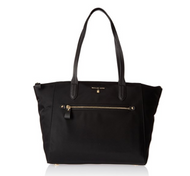 MICHAEL Michael Kors Women's Large Kelsey Tote, Black, One Size