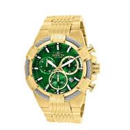 Invicta Men's 25869 Bolt Quartz Chronograph Green Dial Watch