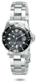 Invicta Women's 2959 Pro Diver Quartz 3 Hand Black Dial Watch