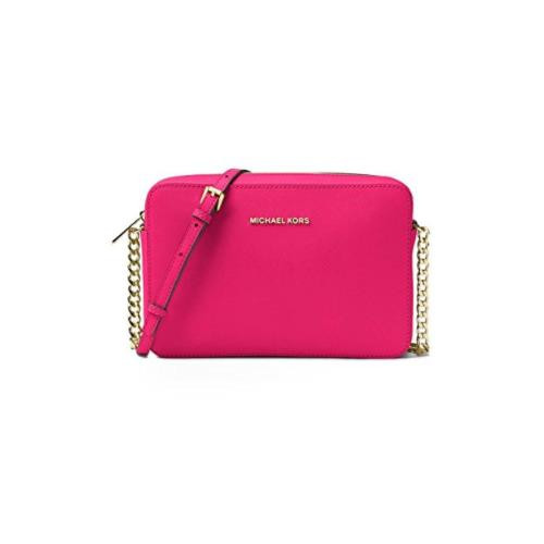0e6045c392f1 ... MICHAEL Michael Kors Jet Set Travel Large Crossbody, Ultra Pink …  32S4GTVC3L-564. Image 1
