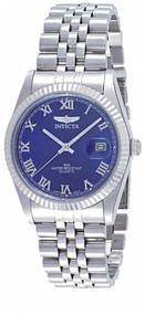 Invicta Men's 9330 Specialty Quartz 3 Hand Blue Dial Watch