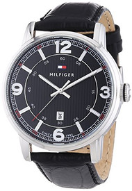 Tommy Hilfiger 1710342 Mens Black George Watch