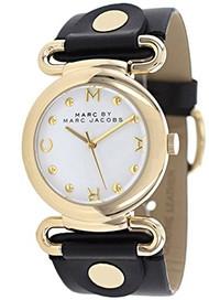 Marc Jacobs Damen-Armbanduhr Analog Quarz Leder MBM1304