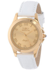 Invicta Women's 14805 Angel 18k Gold Ion-Plated Watch with Interchangeable ...