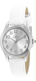 Invicta 21583 Ladies Angel White Leather Strap Watch