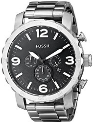Fossil Mens Quartz Stainless Steel watch #JR1353 [Watch] Fossil