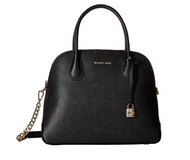 Michael Kors Mercer Dome Large Leather Satchel (Black) 30S7GZ5S2L-001