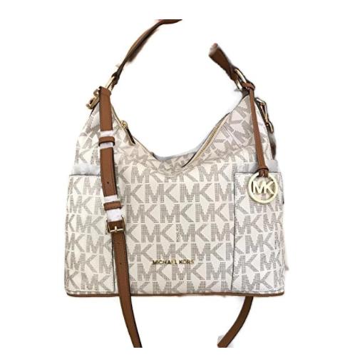 e0a0a6c0f5d3 ... Michael Kors Anita Large Convertible Shoulder Bag (Vanilla)  35H7GA8L7B-150. Image 1