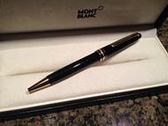 Montblanc 10883 Meisterstuck Classique Gold Plated Trim Ballpoint Pen