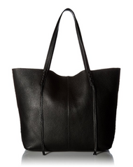 Rebecca Minkoff Medium Unlined Tote with Whipstich, Black HSP7EUWT99-001
