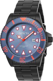 Invicta Men's 90300 Pro Diver Quartz 3 Hand Greyish Blue Dial Watch